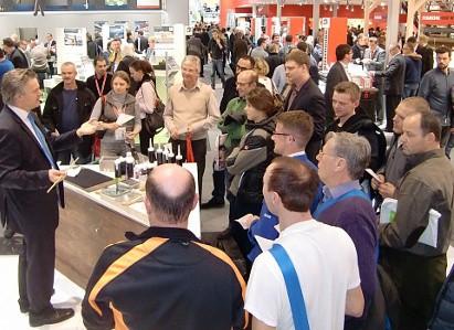 Messe Infotainer Messe BAU München